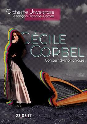 Cécile Corbel et l\'Orchestre Universitaire Besançon Franche-Comté