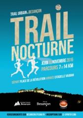 TUB Trail Urbain de Besançon en nocturne
